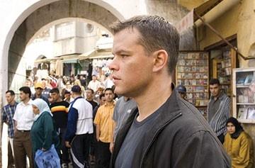 Damon in una scena del film The Bourne Ultimatum