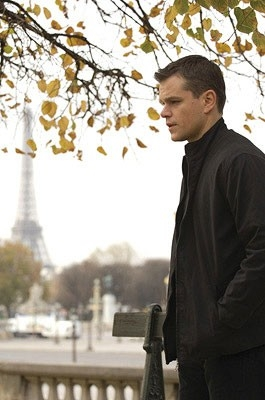 M. Damon in una scena del film The Bourne Ultimatum