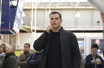 2007: Matt Damon in una scena del film The Bourne Ultimatum