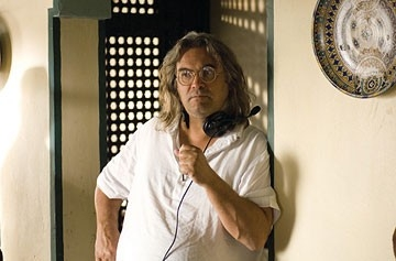 Il regista Paul Greengrass sul set del film The Bourne Ultimatum