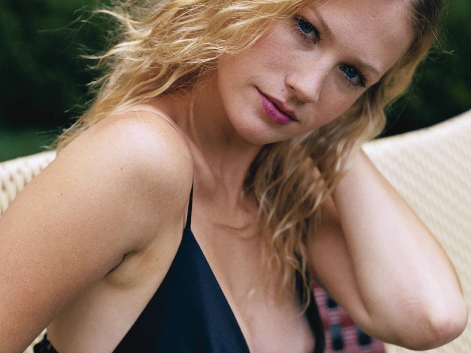 Wallpaper della bella January Jones