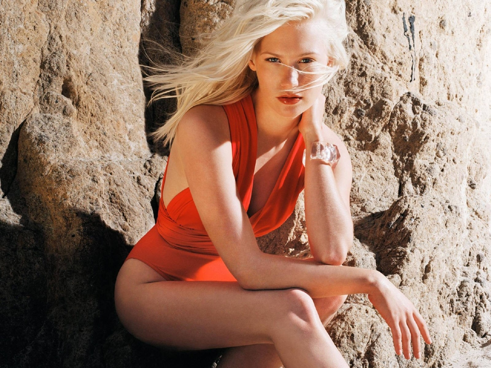 Wallpaper di una seducente January Jones