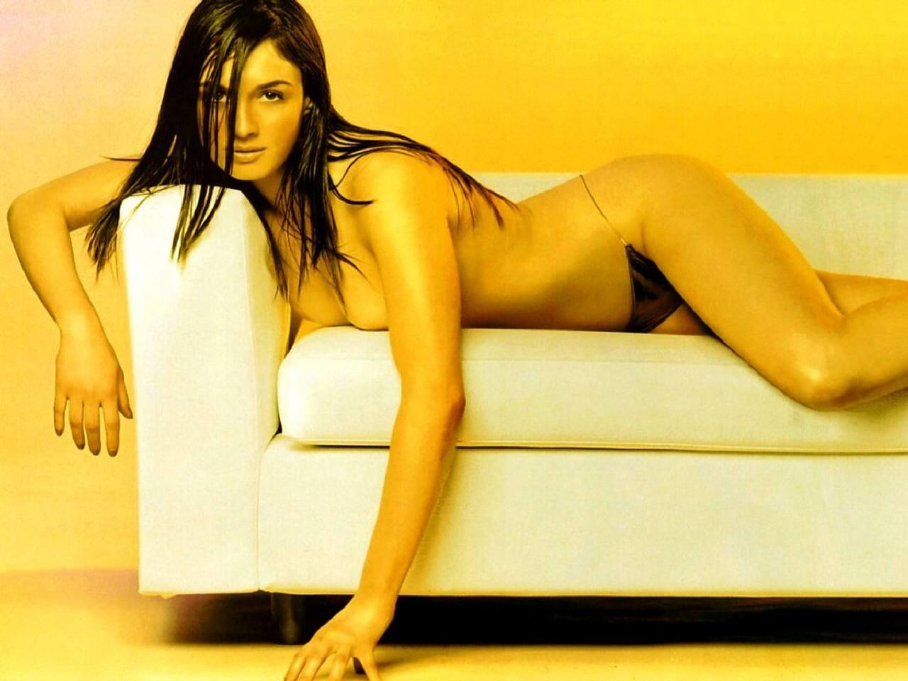 Wallpaper di Paz Vega in topless