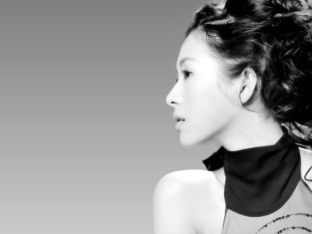 Wallpaper - profilo di Zhang Ziyi