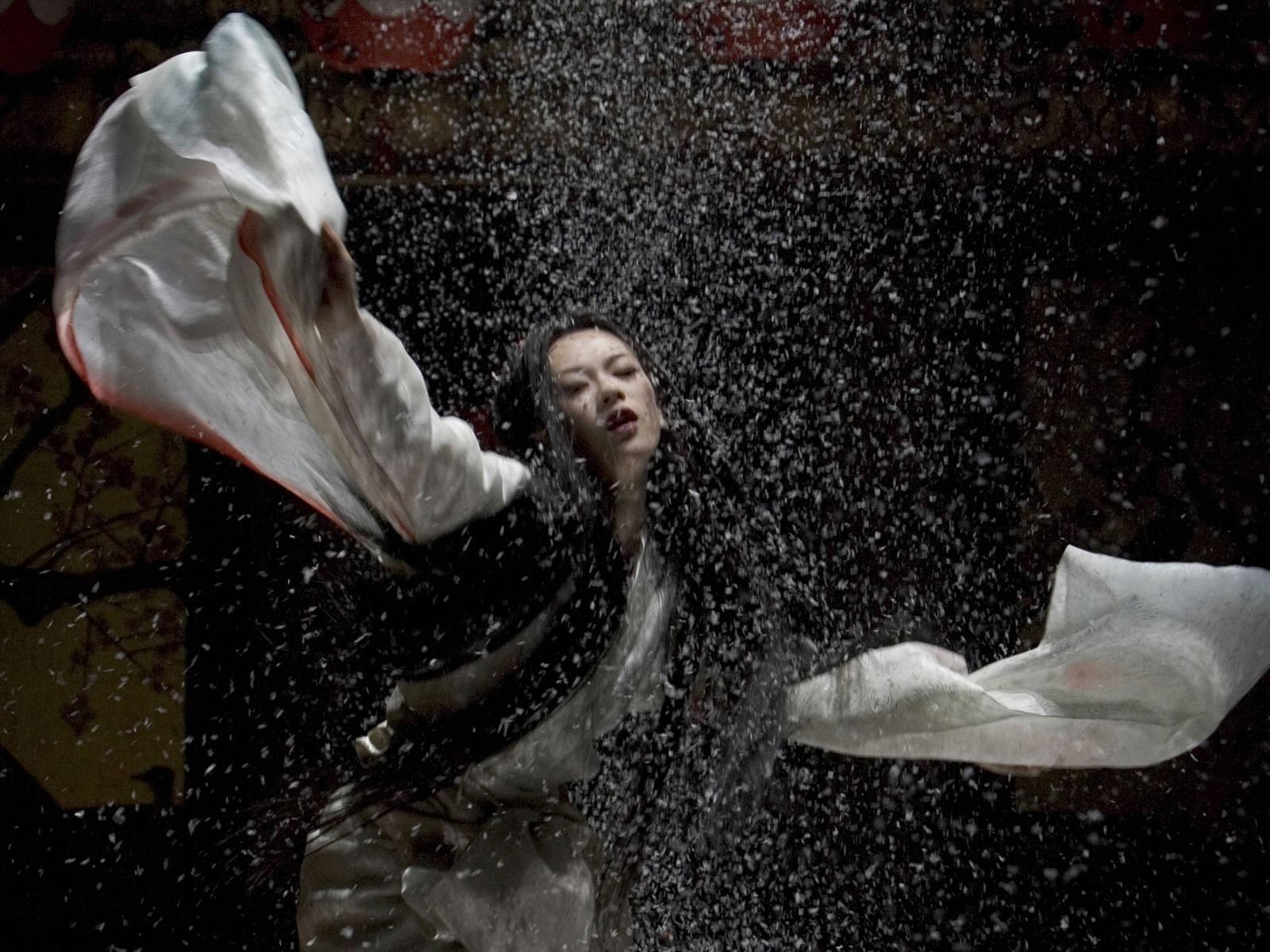 Wallpaper di Zhang Ziyi in Memorie di una Geisha