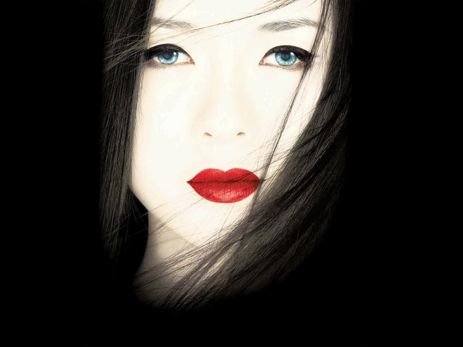Wallpaper di Zhang Ziyi nel film Memorie di una Geisha