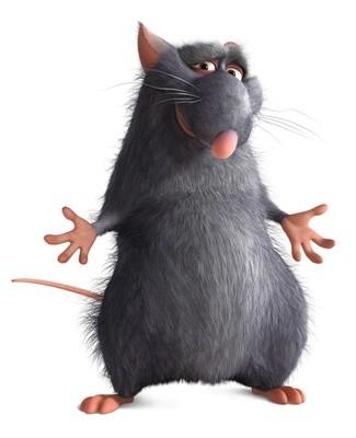 Django, uno dei personaggi protagonisti di Ratatouille