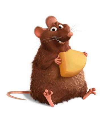 Emile, uno dei personaggi protagonisti di Ratatouille
