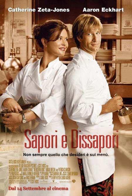 Il poster italiano di No Reservations