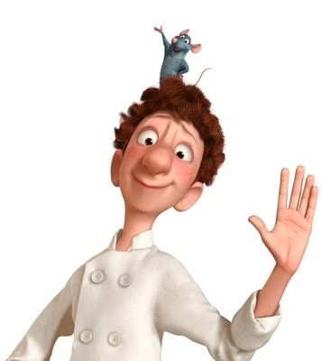 Linguini e il piccolo Remy sono i protagonisti di Ratatouille