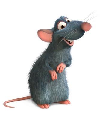 Remy, uno dei personaggi protagonisti di Ratatouille (2007)