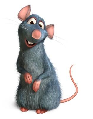 Remy è un topo dalle straordinarie abilità culinarie nel film Ratatouille