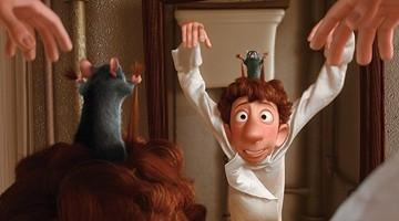 Prove davanti allo specchio per i protagonisti di Ratatouille