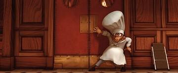 Una divertente scena del film Ratatouille