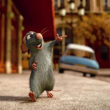 Una scena del film Ratatouille