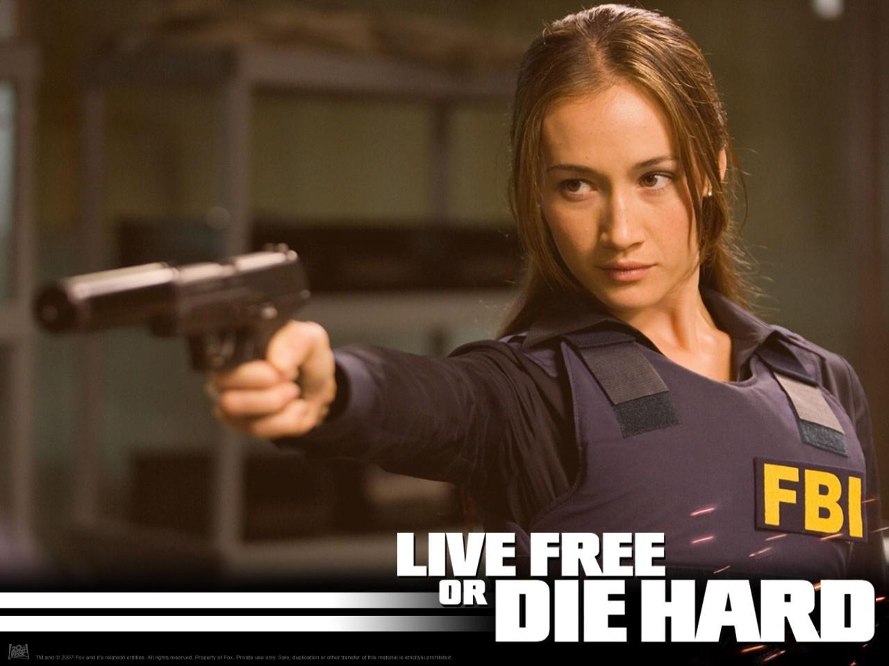 Wallpaper del film Die Hard - Vivere o morire