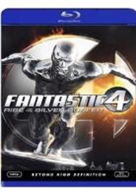 La copertina DVD di I Fantastici 4 e Silver Surfer (Blu-Ray)