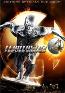 La copertina DVD di I Fantastici 4 e Silver Surfer - Edizione speciale