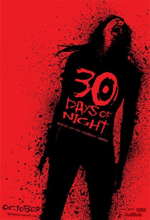 La locandina del vampire-movie 30 Days of Night