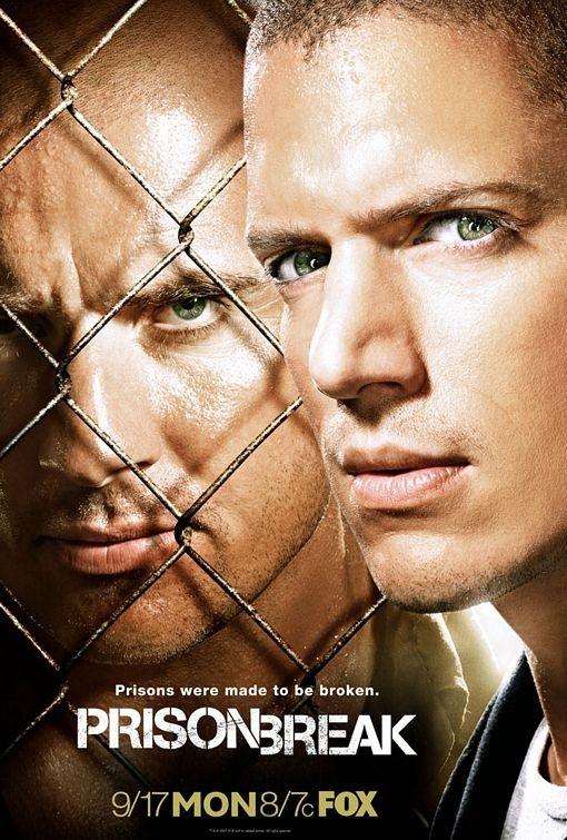 Poster promozionale per Prison Break