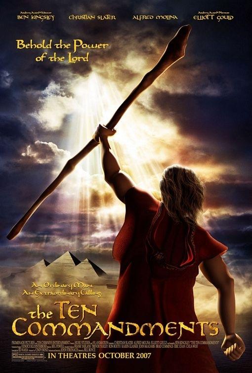 La locandina di The Ten Commandments
