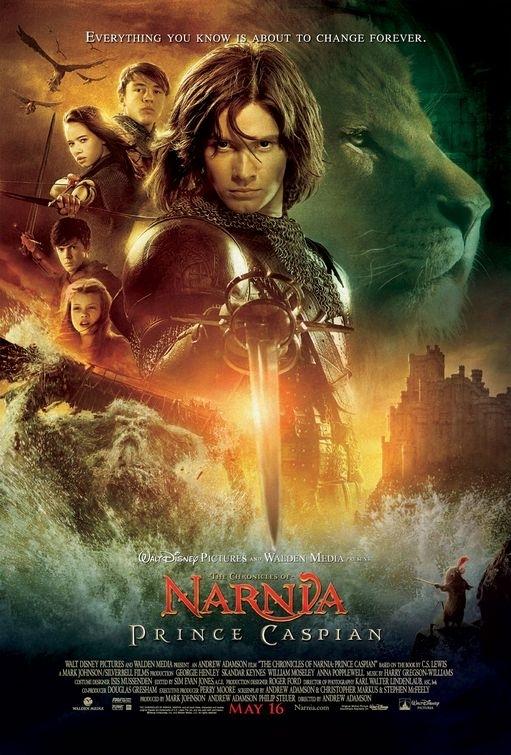 La locandina di Le cronache di Narnia: il principe Caspian
