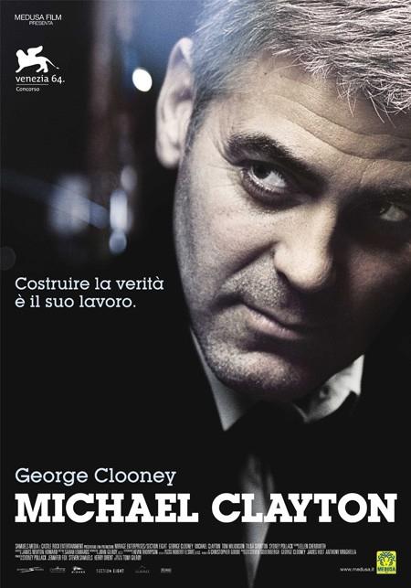 La locandina italiana di Michael Clayton