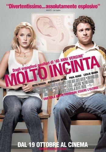 La locandina italiana di Molto incinta
