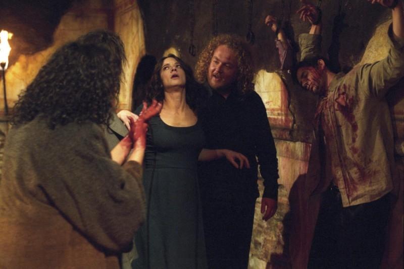 Asia Argento in una scena del film La terza Madre, diretto da suo padre nel 2007