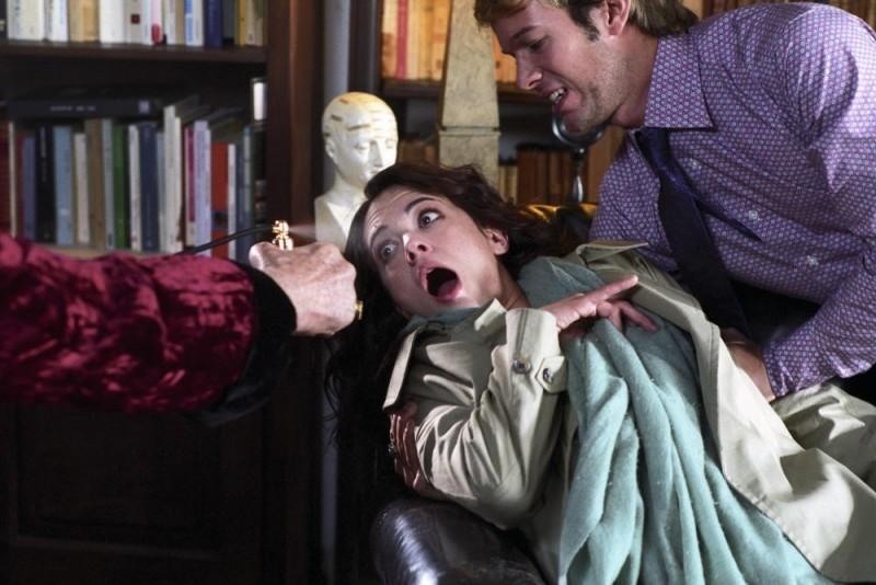Asia Argento (al centro) in una scena del film La terza Madre