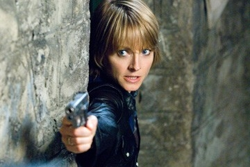 Jodie Foster in una scena drammatica de Il buio nell'anima