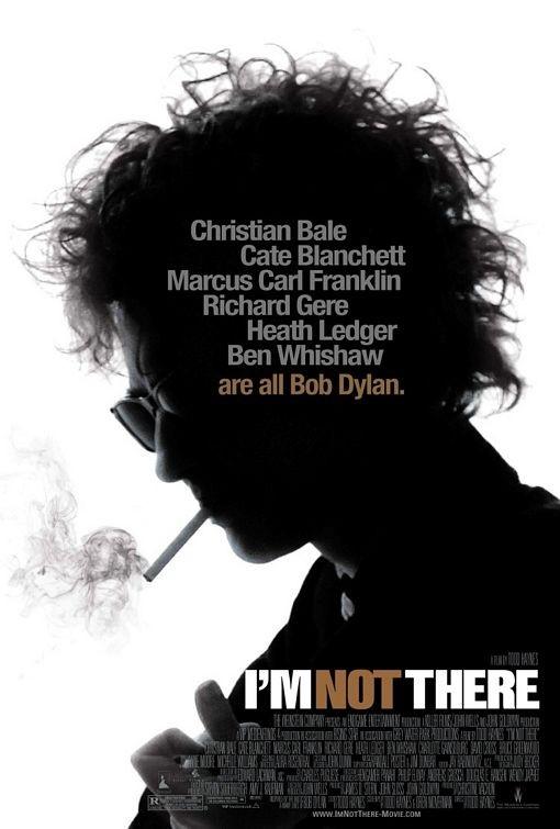 Una bella locandina realizzata per il film Io non sono qui (I'm Not There)