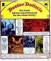 La locandina di Il Favoloso dr. Dolittle