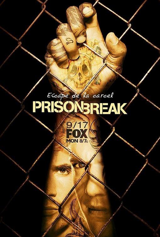 La locandina spagnola di Prison Break