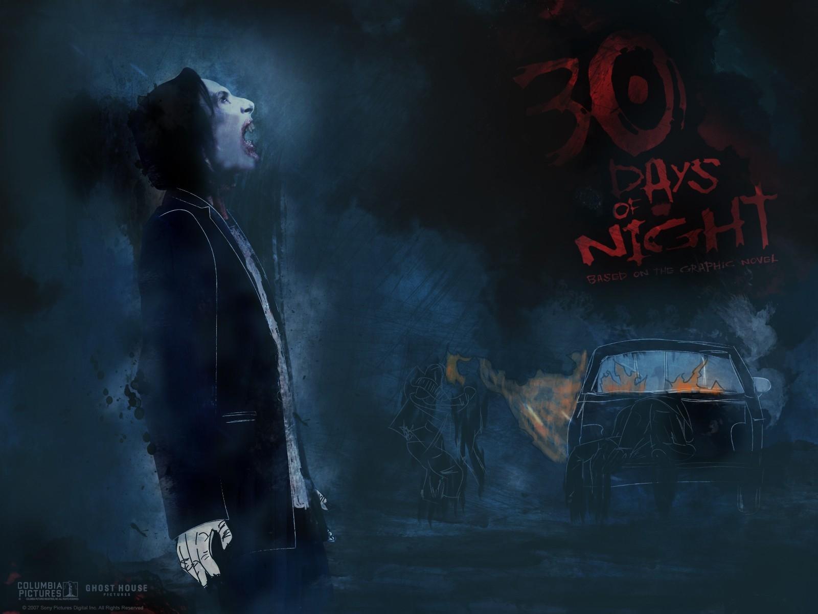Un wallpaper del film 30 giorni di buio