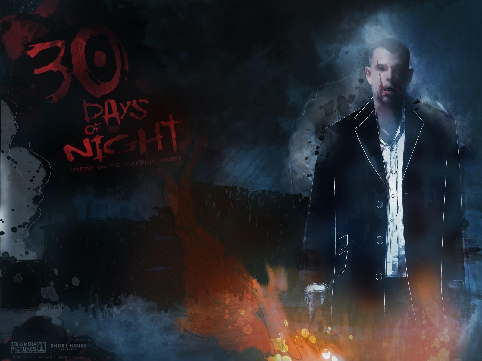Wallpaper del film 30 giorni di buio