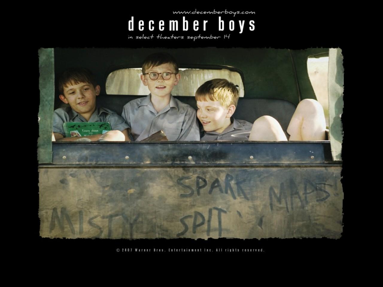 Wallpaper del film December Boys