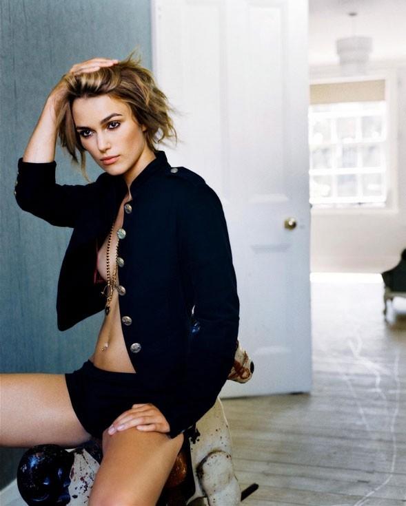 Keira Knightley in una foto sexy