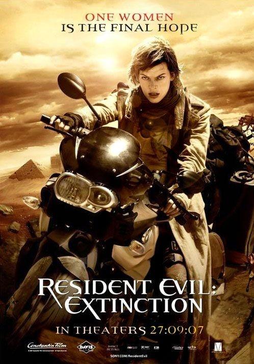 La locandina di Resident Evil: Extinction