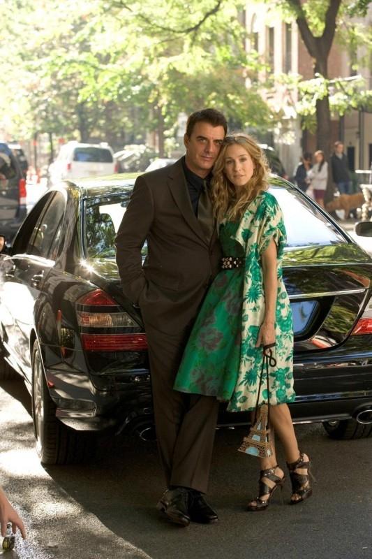 Sarah Jessica Parker e Chris Noth nella prima foto ufficiale del film di Sex and the City