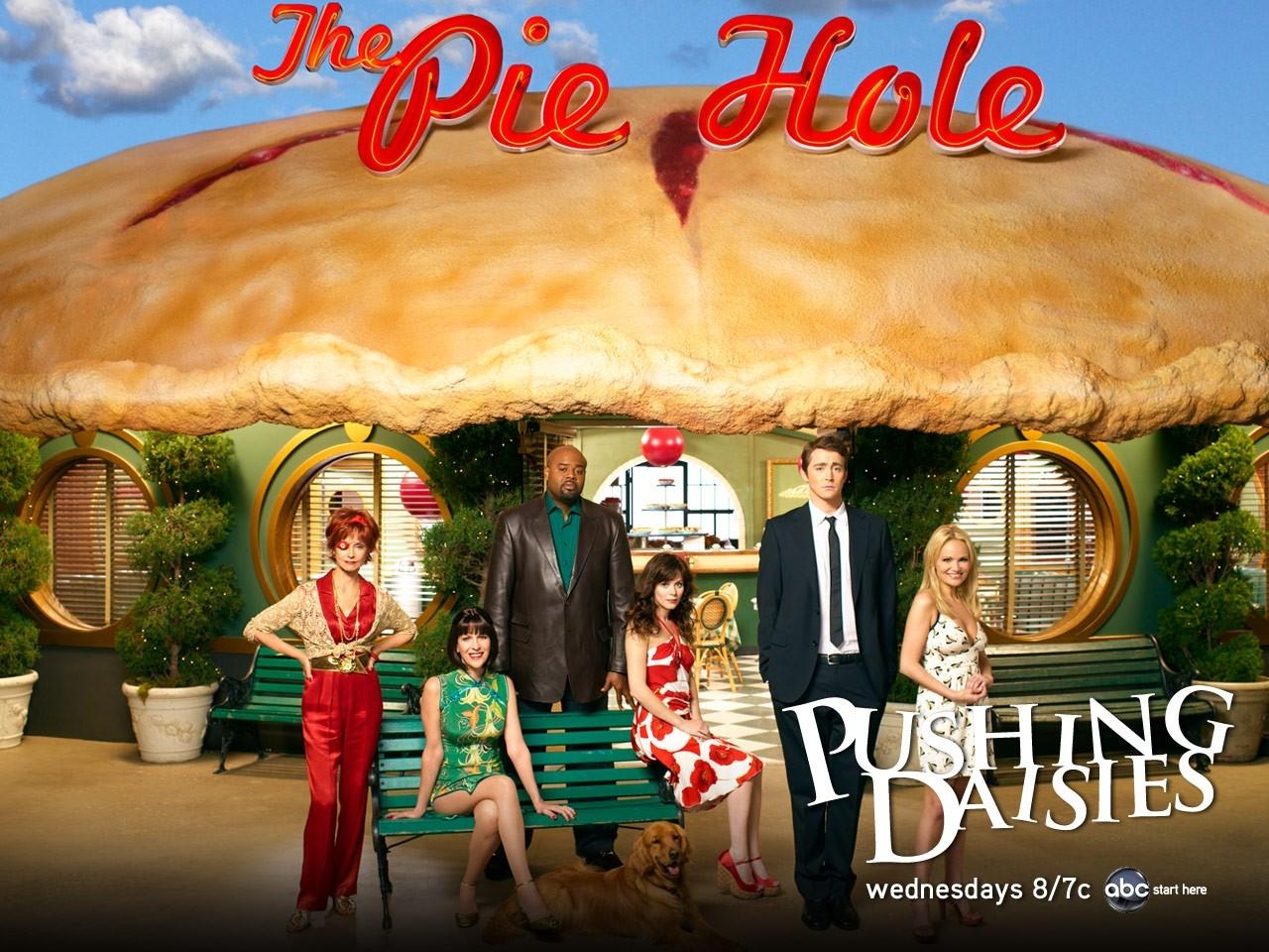 Wallpaper della serie Pushing Daisies