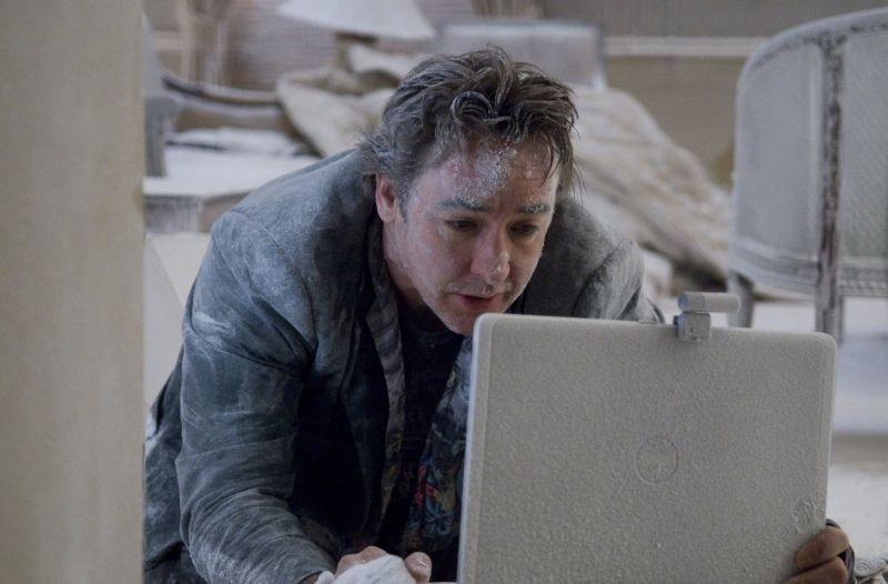 John Cusack in una scena del thriller 1408, tratto da un racconto di Stephen King