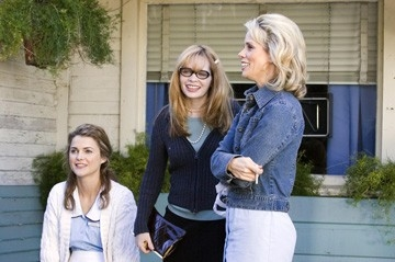 Keri Russell, Adrienne Shelly e Cheryl Hines sul set del film Waitress