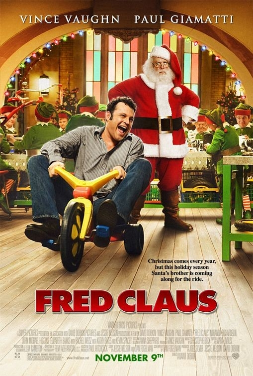 una locandina di Fred Claus