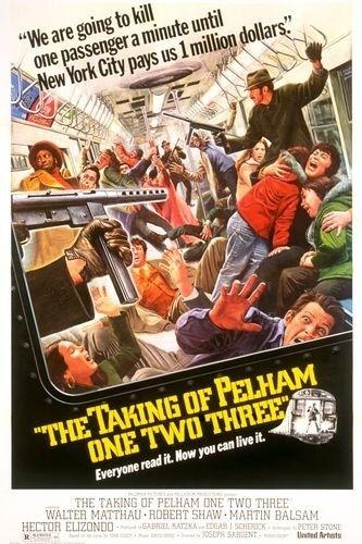 La locandina di Il colpo della metropolitana - un ostaggio al minuto