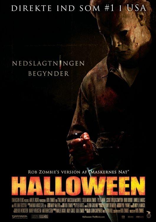 La locandina svedese di Halloween