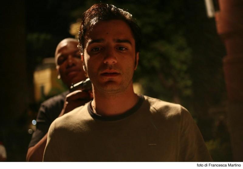 Cemento Armato: Nicolas Vaporidis in una scena del film di Marco Martani