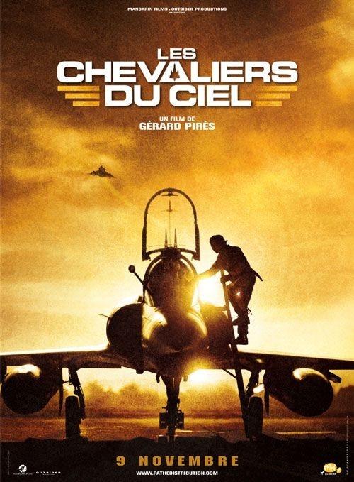 La locandina del film Sky Fighters