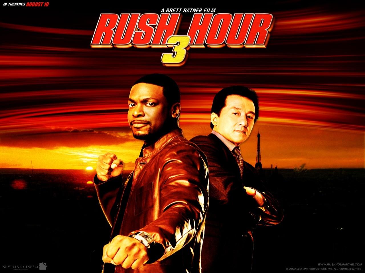 Wallpaper del film Rush Hour - Missione Parigi