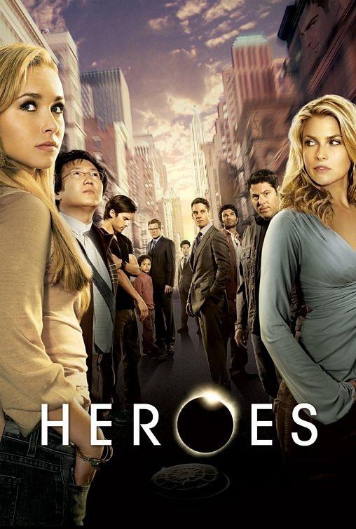 una locandina di Heroes